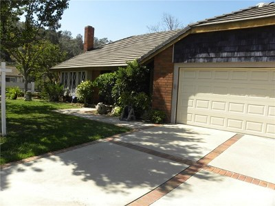 Whittier Single Family Home For Sale: 4537 Pala Mesa Drive