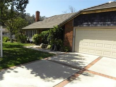 Whittier Single Family Home For Sale: 4537 Pala Mesa Drive
