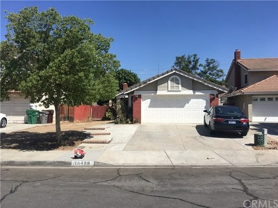 Moreno Valley Single Family Home For Sale: 16458 Kensington Place