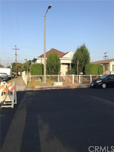 Los Angeles Single Family Home For Sale: 5555 Duarte Street
