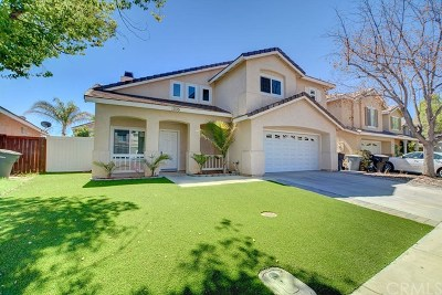 Perris Single Family Home For Sale: 1335 Abbey Pines Drive