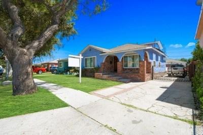 Long Beach Single Family Home For Sale: 2832 E Thompson Street