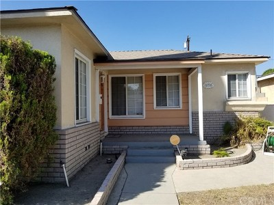 Long Beach Single Family Home For Sale: 275 E Neece Street