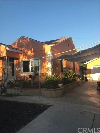 Santa Ana Single Family Home For Sale: 2221 Hickory Street