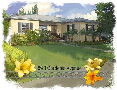 California Heights (Ch) Single Family Home For Sale: 3521 Gardenia Avenue