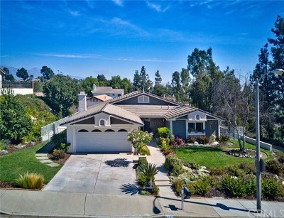 Chino Hills Single Family Home For Sale: 2036 Turquoise Circle