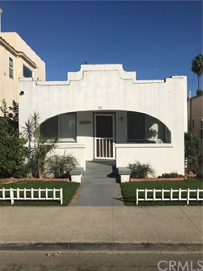 Belmont Shore (Bsd) Single Family Home For Sale: 58 La Verne Avenue