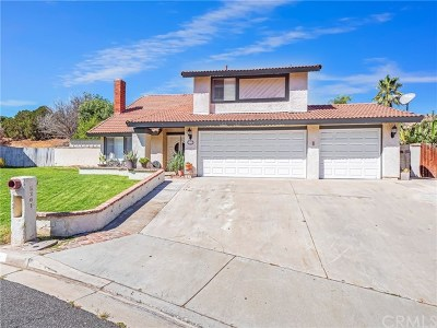 Jurupa Single Family Home For Sale: 5301 Viscaya Court
