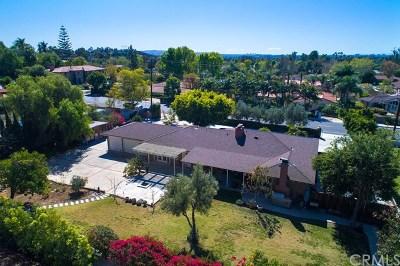 North Tustin Single Family Home For Sale: 1341 La Loma Drive
