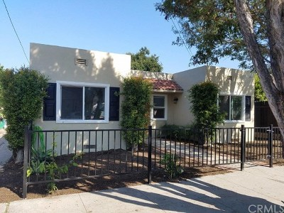 Santa Barbara Single Family Home For Sale: 917 Alphonse Street