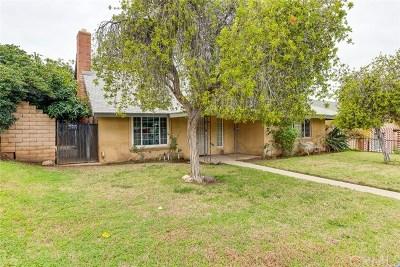 Corona CA Single Family Home For Sale: $450,000