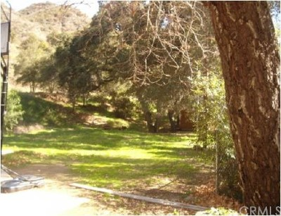 Modjeska Canyon, Silverado Canyon Residential Lots & Land For Sale: Modjeska Canyon Rd
