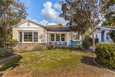 Fullerton Single Family Home For Sale: 319 W Whiting Avenue