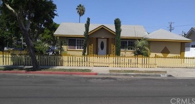 Santa Ana Single Family Home For Sale: 715 W Cubbon Street