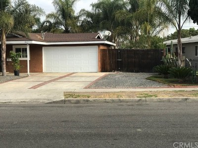 Santa Ana Single Family Home For Sale: 2015 W Wilshire Avenue