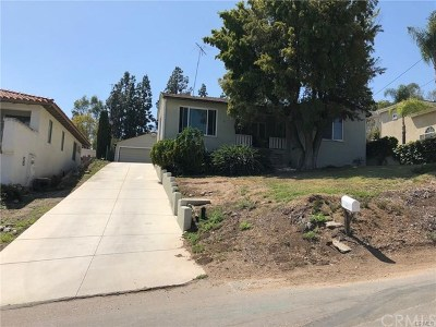 Fullerton Single Family Home For Sale: 2117 N Moody Avenue