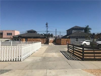Long Beach Multi Family Home For Sale: 1442 Gardenia Avenue