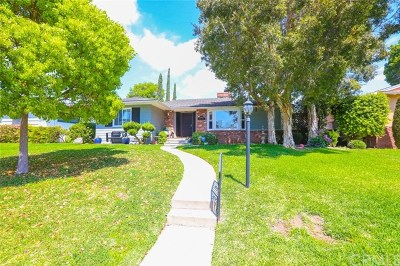 Whittier Single Family Home For Sale: 14455 Bronte Drive