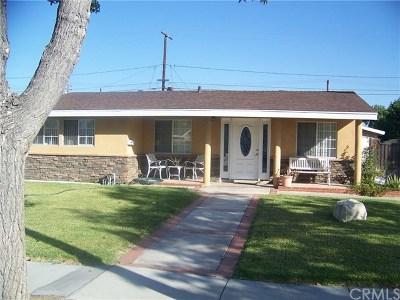 Anaheim Single Family Home For Sale: 1407 W Chateau Avenue