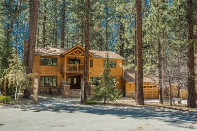 Big Bear Single Family Home For Sale: 730 Winterset Court