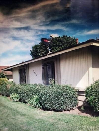 Condo/Townhouse For Sale: 2530 El Dorado Avenue #E