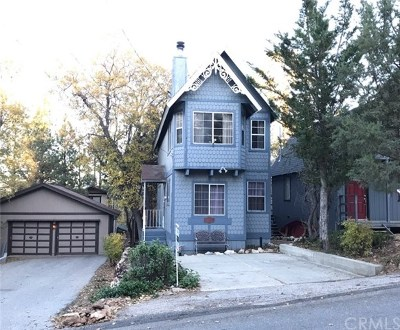 Big Bear Single Family Home For Sale: 851 Maple