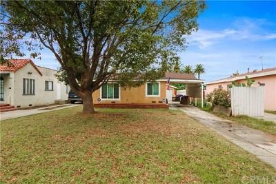 Long Beach Single Family Home For Sale: 5923 Myrtle Avenue