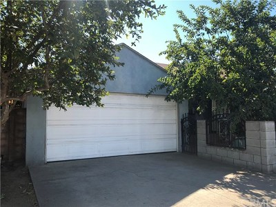 Maywood Single Family Home For Sale: 4740 E 60th Street