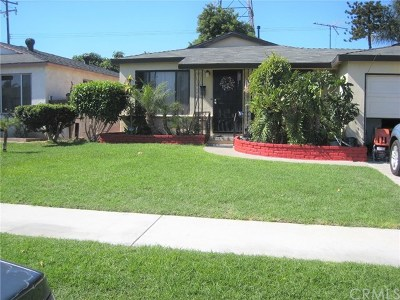 Whittier Single Family Home For Sale: 6725 Pioneer Boulevard