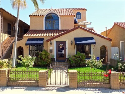 Belmont Shore (Bsd) Single Family Home For Sale: 148 Prospect Avenue