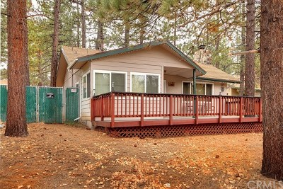 Big Bear Single Family Home For Sale: 40027 Forest Road
