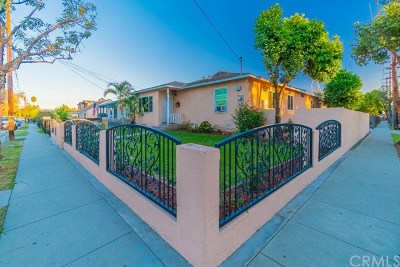 Long Beach Single Family Home For Sale: 2450 W Lincoln Street
