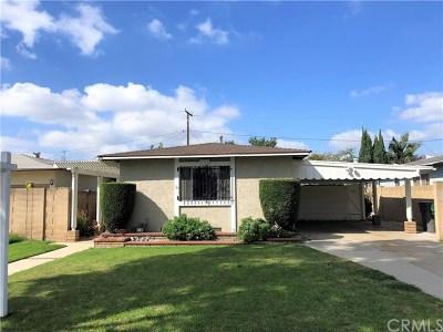 Santa Ana Single Family Home For Sale: 1322 S Baker Street