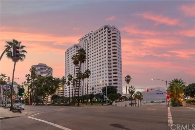 Long Beach Condo/Townhouse For Sale: 525 E Seaside Way #309