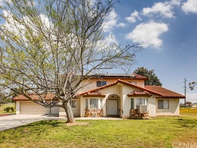 Perris Single Family Home For Sale: 17960 Haines Street