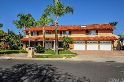 Fullerton Single Family Home For Sale: 713 El Mirador Drive