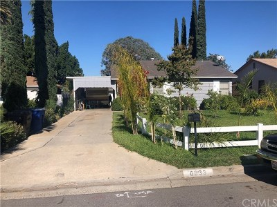 Riverside Single Family Home For Sale: 6833 Coolidge Avenue