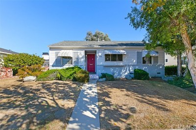 Long Beach Single Family Home For Sale: 3814 Palo Verde Avenue