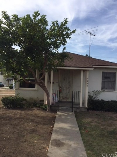 Whittier Multi Family Home For Sale: 7957 Milton Avenue
