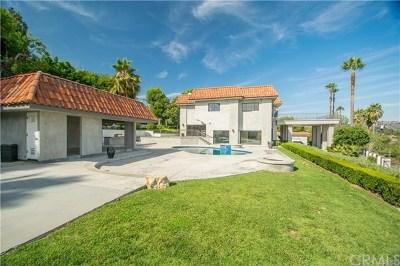 La Habra Heights Single Family Home For Sale: 1380 Mayapan Road