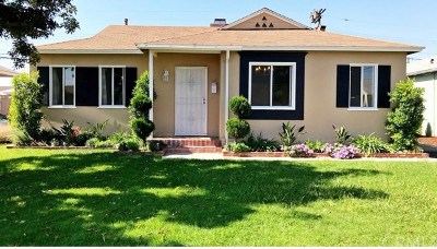 Downey Single Family Home For Sale: 10825 Offley Avenue