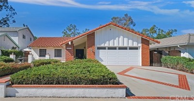 Mission Viejo Single Family Home For Sale: 24791 San Andres Lane