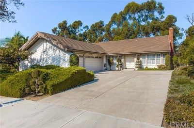 Fullerton Single Family Home Active Under Contract: 2943 Treeview Place