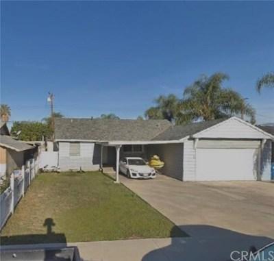 La Puente Single Family Home For Sale: 621 Broadmoor Avenue