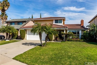 La Palma Single Family Home Active Under Contract: 7932 Carolyn Circle