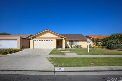 Santa Ana Single Family Home For Sale: 505 W Alpine Avenue