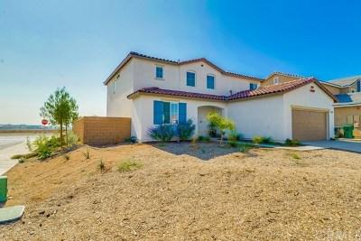 Moreno Valley Single Family Home For Sale: 24977 Quenada Drive