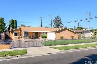 Midway City Single Family Home For Sale: 15531 Monroe Street