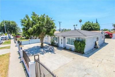 La Puente Single Family Home For Sale: 541 La Seda Road
