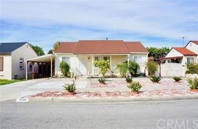 Gardena Single Family Home For Sale: 2729 144th